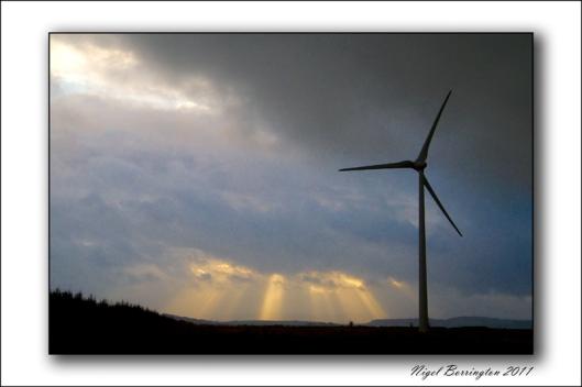 Ballymartin Wind Farm, Bord Gais