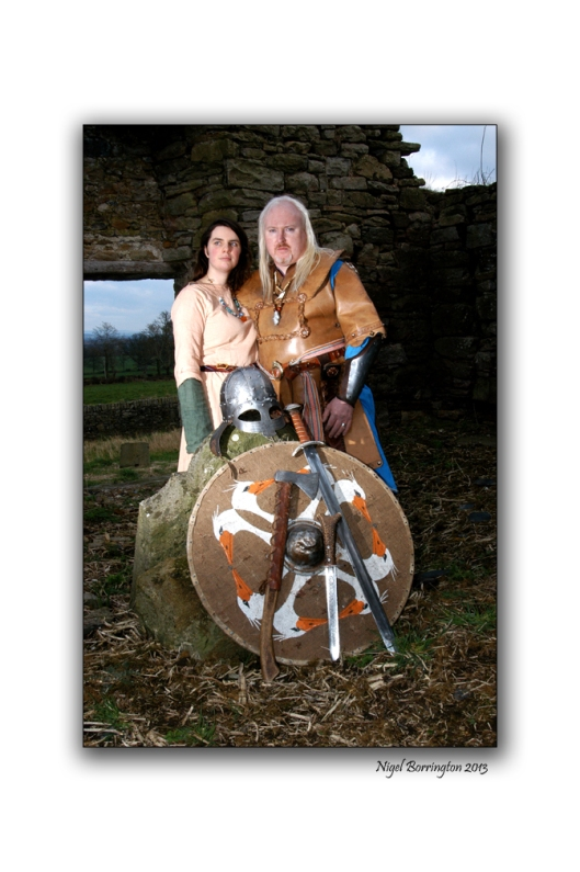 Irish Viking couple